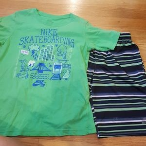 Nike short and shirt outfit